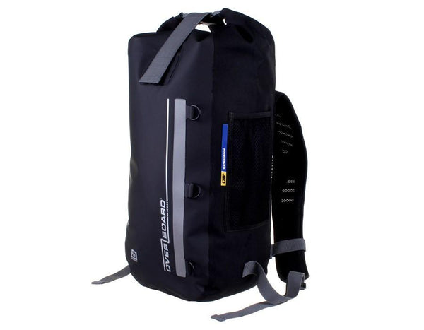 Overboard 60 Litre Waterproof Dry Tube Backpack -Black