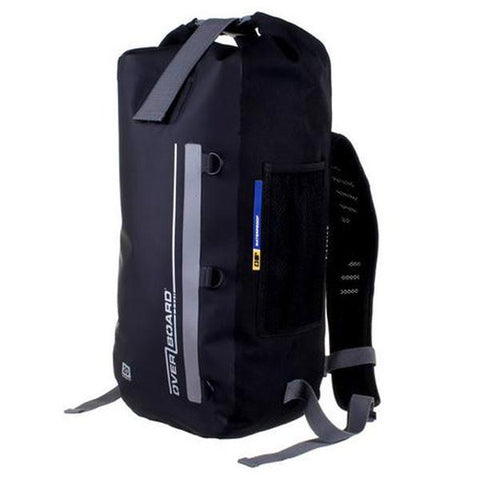Overboard 20 Litre Waterproof Classic Backpack - Black