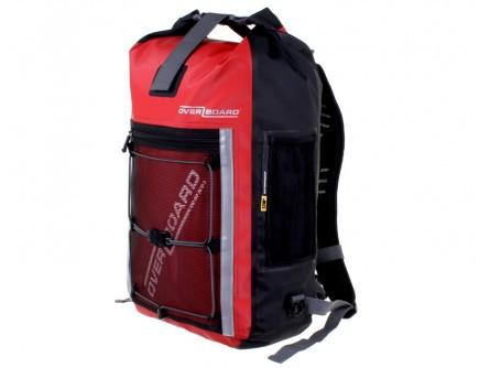 Overboard Pro-Sports - 30 Litre Waterproof Backpack - Red