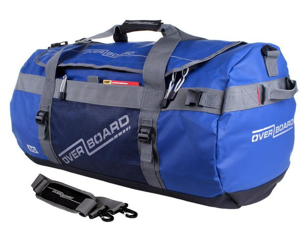 OverBoard Adventure 90L Waterproof Duffel/Backpack - Blue