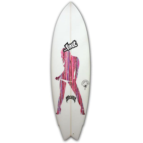 Mayhem - Round Nose Fish - Surfboard