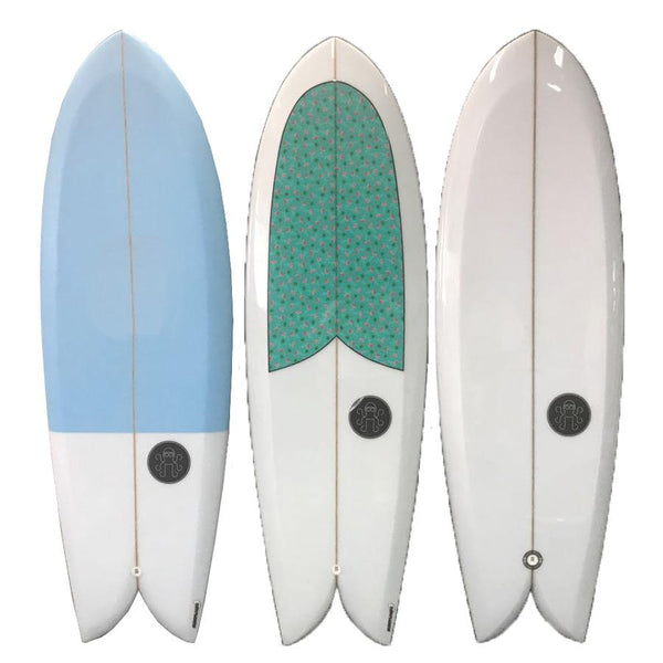 Voyager Twin Fin Fish Surfboard