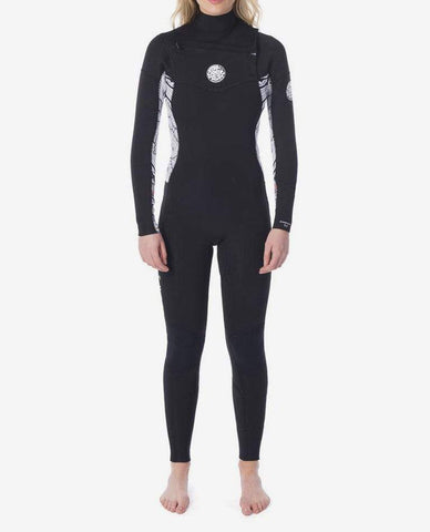 Rip Curl - Womens Dawn Patrol 4/3 Chest Zip Wetsuit