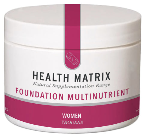 Health Matrix Foundation Multinutrient for Women