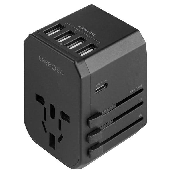 Energea Travelworld Adapter USB Charger