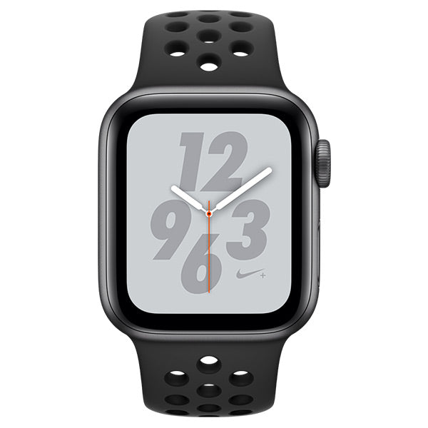 Apple Watch Nike Series 4 Space Grey Aluminum Case with Anthracite/black Nike Sport Band Cellular