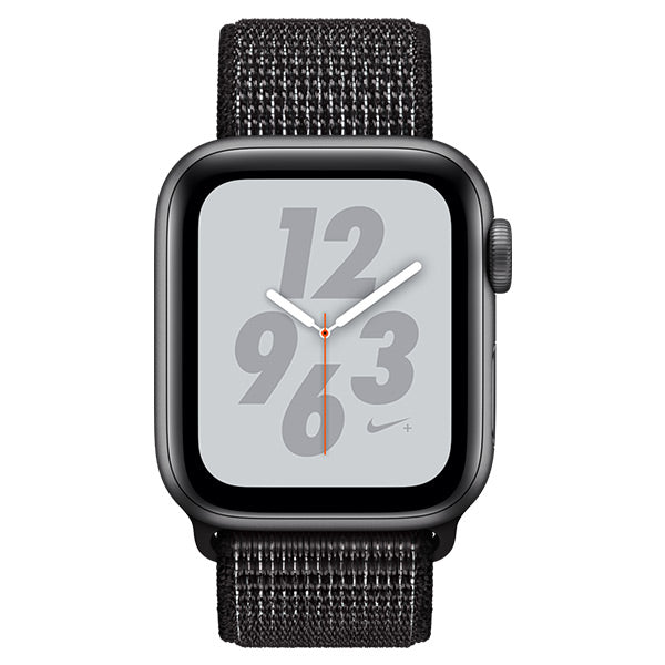 Apple Watch Nike Series 4 Space Grey Aluminum Case with Black Nike Sport Loop Cellular