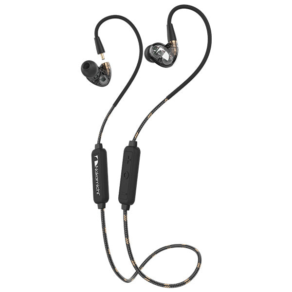 Nakamichi DC226 Bluetooth Earphone  + DC100 3.5MM Cable