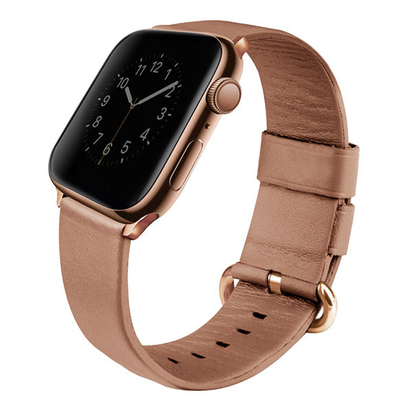 Uniq Apple Watch Series 4 Mondain Leather Strap