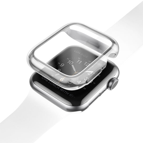 Uniq Garde Hybrid Apple Watch Series 4 Case with Screen Protection
