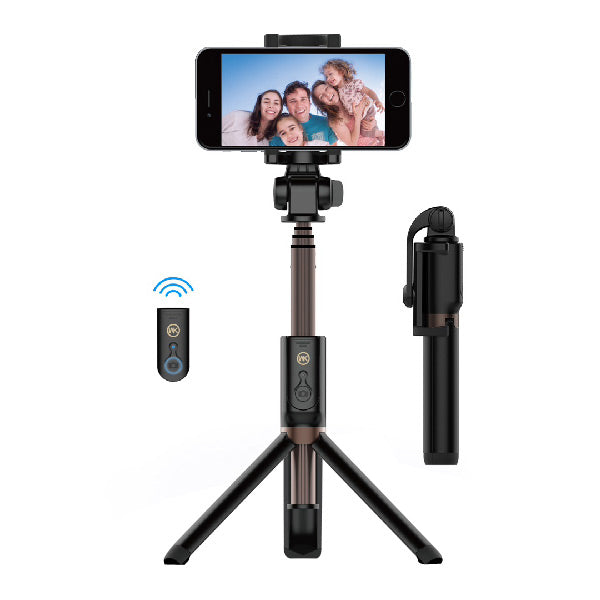 WK Bluetooth Selfie Stick With Triangle Holder Wt-P04