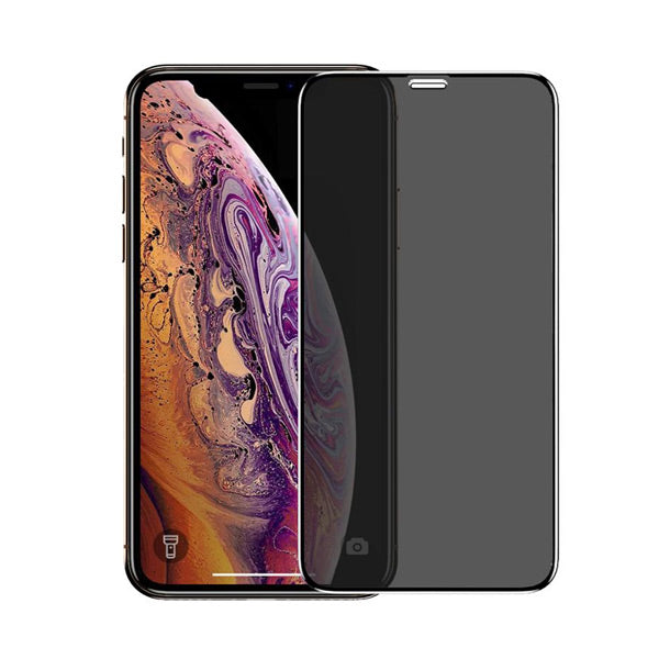 Mazer iPhone 11/iPhone 11 Pro/iPhone 11 Pro Max Full Coverage Privacy Tempered Glass With Applicator
