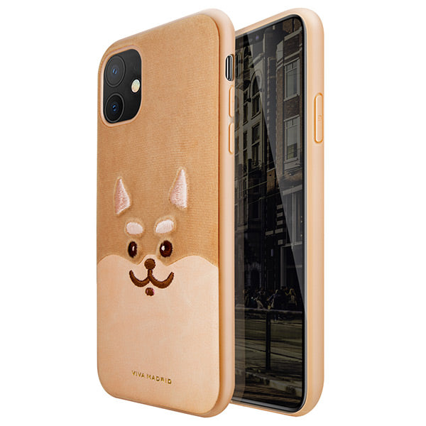 Viva iPhone 11/iPhone 11 Pro/iPhone 11 Pro Max Shiba Back Case Peanut
