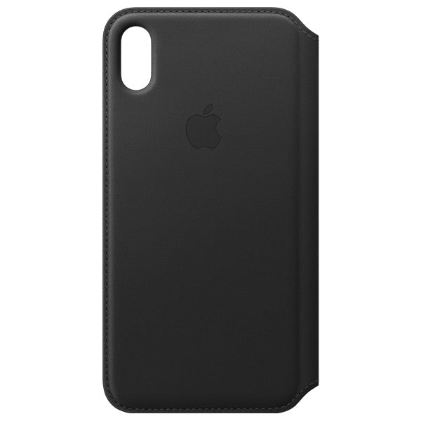 new styles 799e7 08d56 Apple iPhone Xs Max Leather Folio
