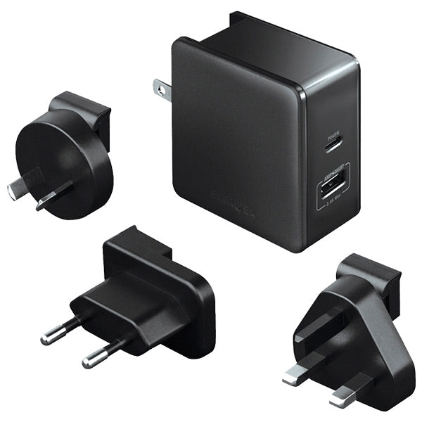 Energea Travelworld PD45A 45W Travel Adapter