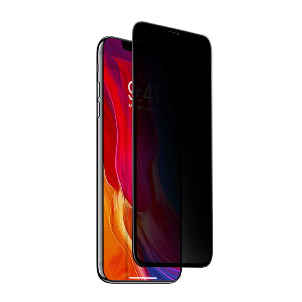 Mono Duraglas iPhone Xs Full Coverage Privacy Tempered Glass