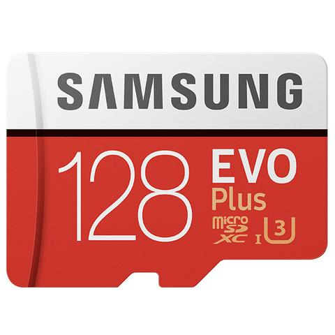 Samsung Evo Plus 2 MicroSD Card 100MB/S with Adapter - 128GB