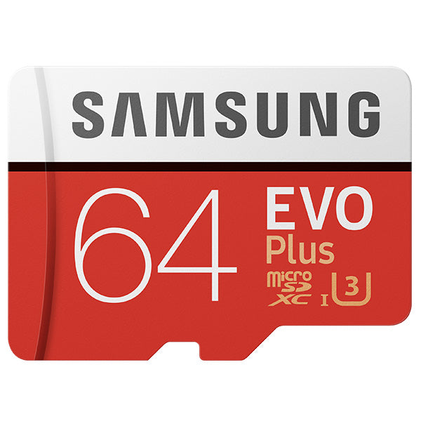 Samsung Evo Plus 2 MicroSD Card 100MB/S with Adapter
