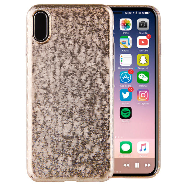 Uniq Hybrid iPhone X Topaz Back Case