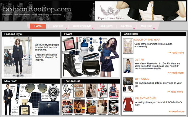 First online magazine collaboration fashion rooftop nitya biswas quench your fashion hunger with fashion rooftop and check out their featured sections chic list i want featured style etc sisterspd