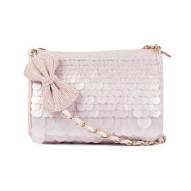 Angel Glow Beaded Slingbag - Ruche & Hues