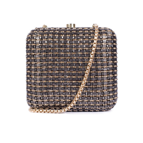 Metallic Bling Minaudière (Limited Edition) - Ruche & Hues