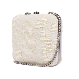Abstract Beaded Minaudière - Ruche & Hues  - 2