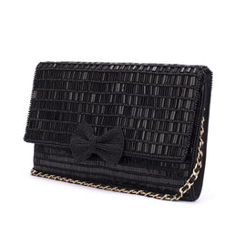 Pretty Forever Beaded Clutch - Ruche & Hues