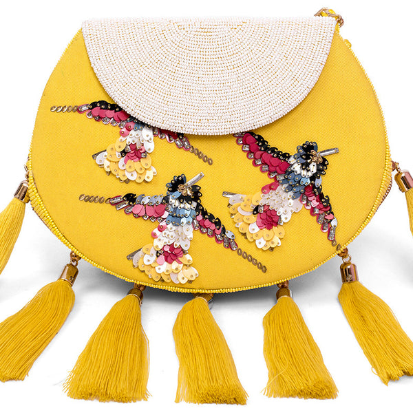 Cleopatra Grace Embellished Bag