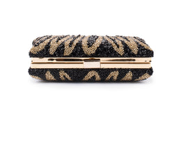 Indak Embellished Clutch (GOLD/BLACK)