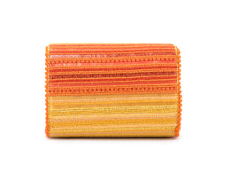Beamish Crystalised Baguette Bag (ORANGE/YELLOW)