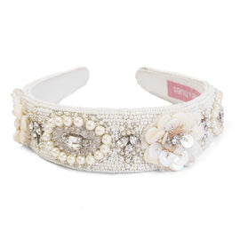 Medallion Olivia Embellished Hairband - Ruche & Hues  - 2