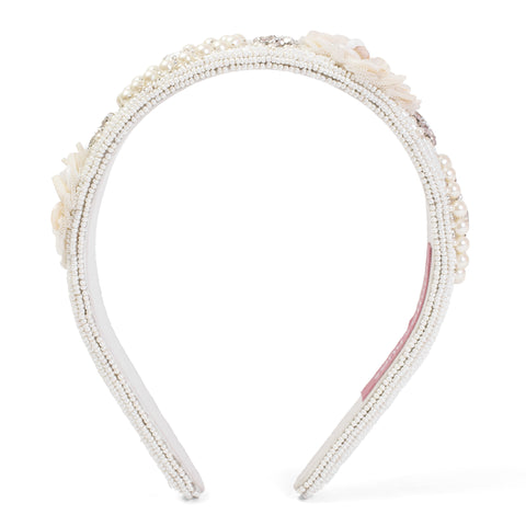 Medallion Olivia Embellished Hairband - Ruche & Hues  - 3
