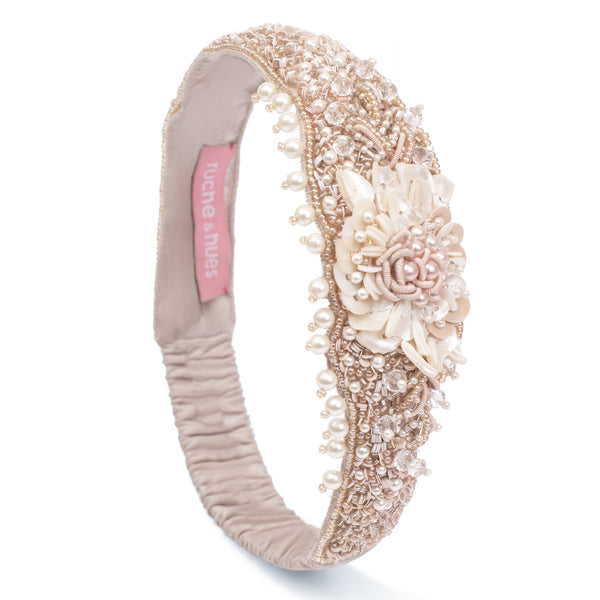 Cherry Charlotte Embellished Hairband - Ruche & Hues