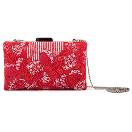 Bloom Embellished clutch