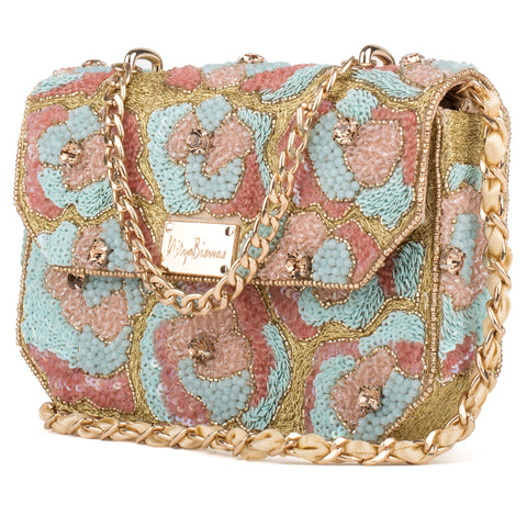 Daisy Crystal Embellished Bag