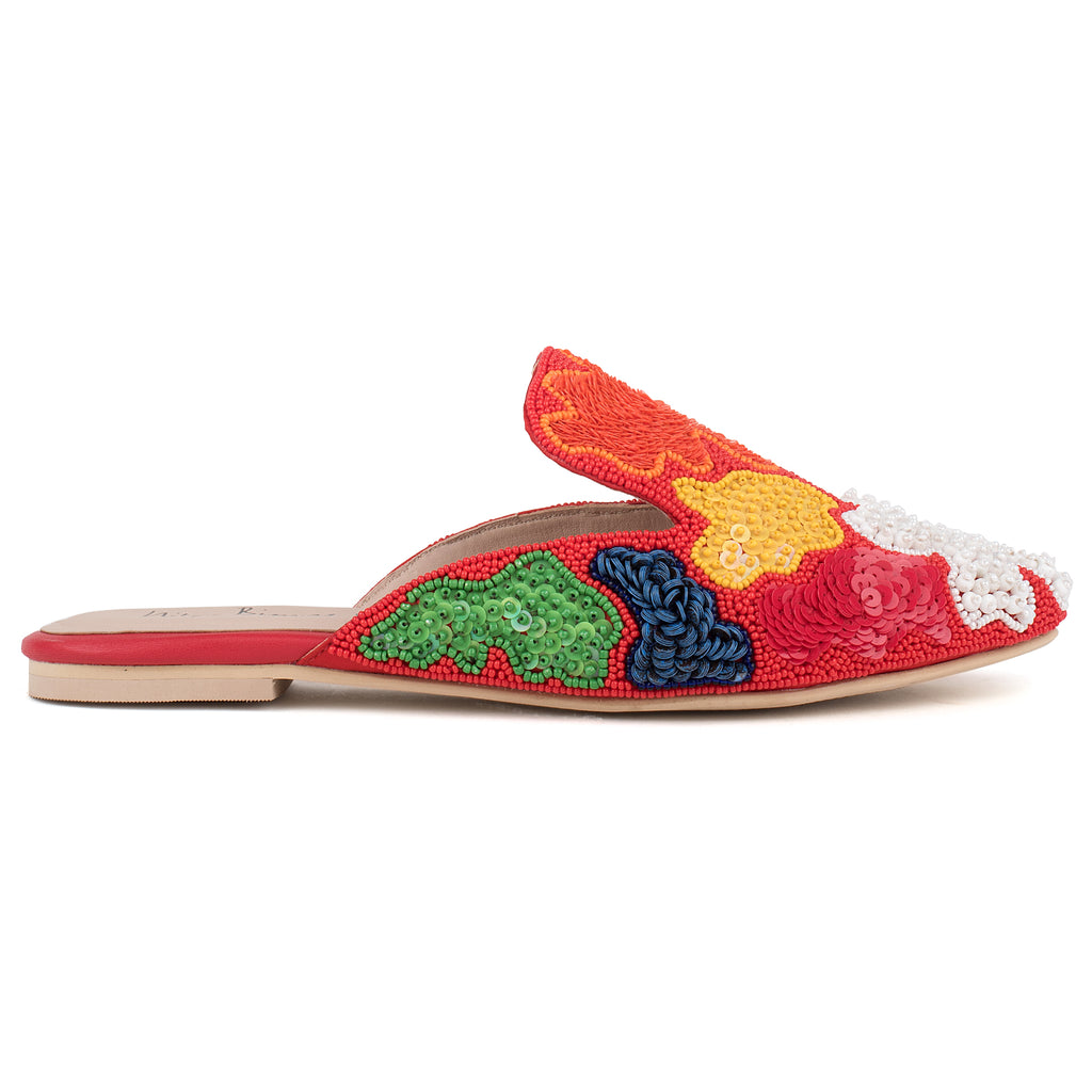 Robin Beaded Slip-ons