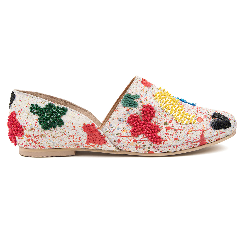 June Embellished Slip Ons
