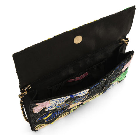 Margaret Magic Beaded Clutch
