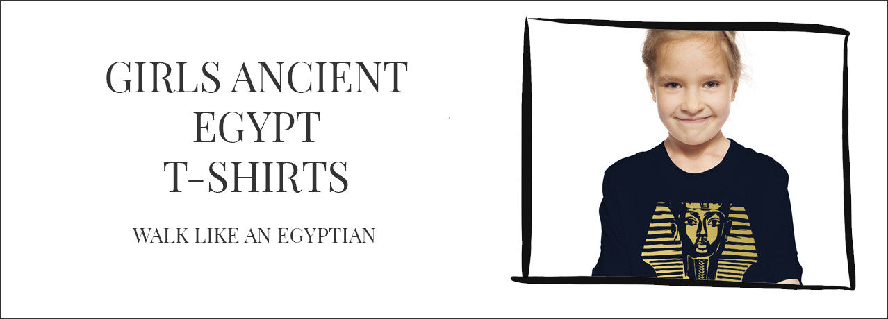 girls ancient egypt t-shirts