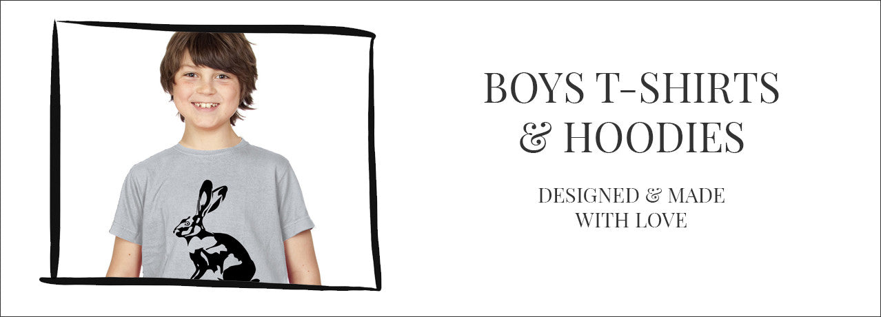 boys t-shirts and hoodies
