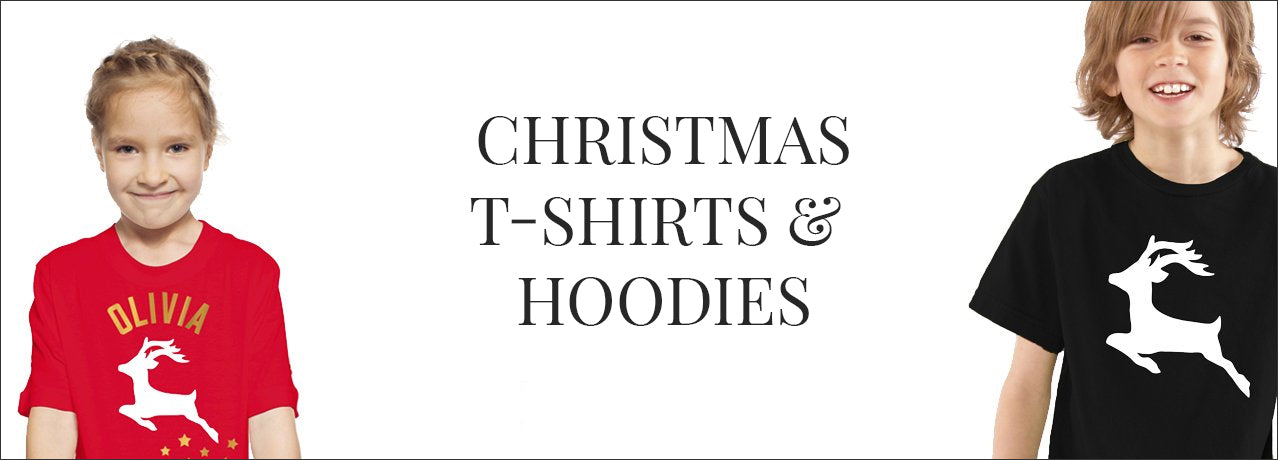 christmas t-shirts and hoodies