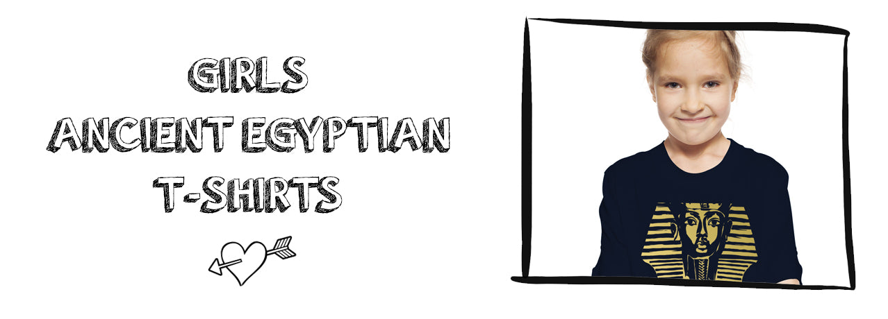 Girls Ancient Egyptian T-Shirts