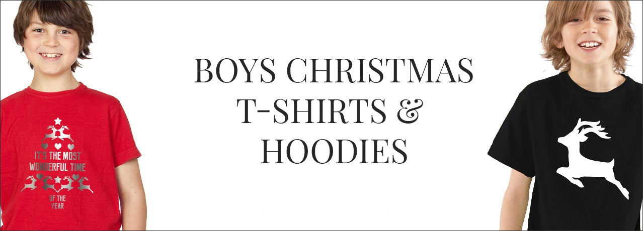 Boys Christmas T-Shirts and Hoodies
