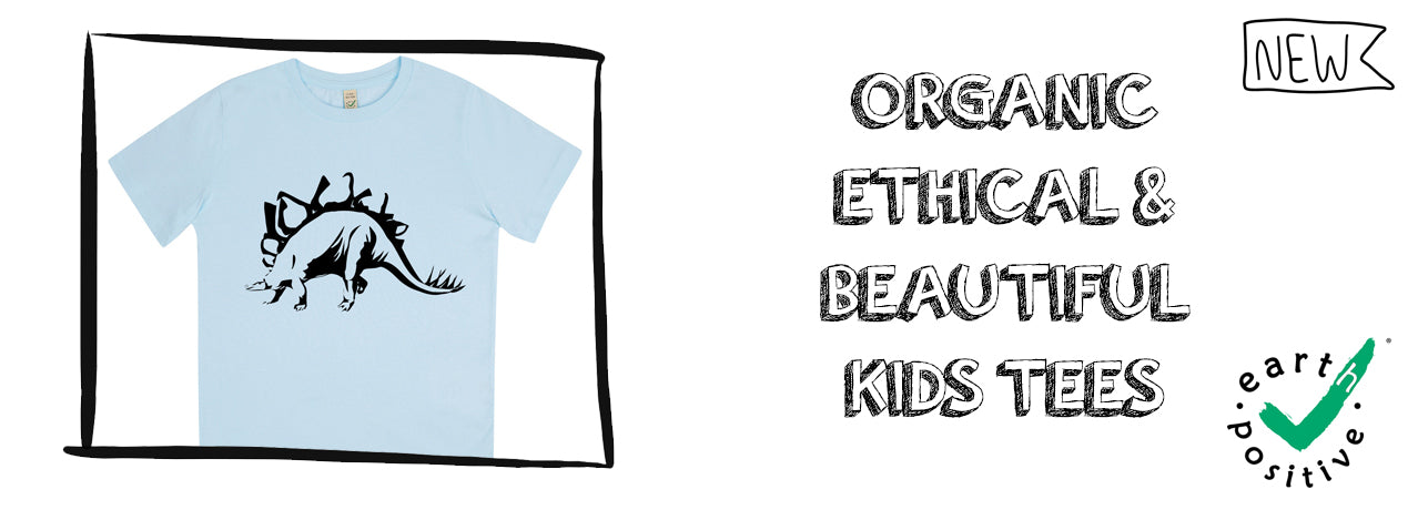 Boys EarthPositive Organic T-Shirts