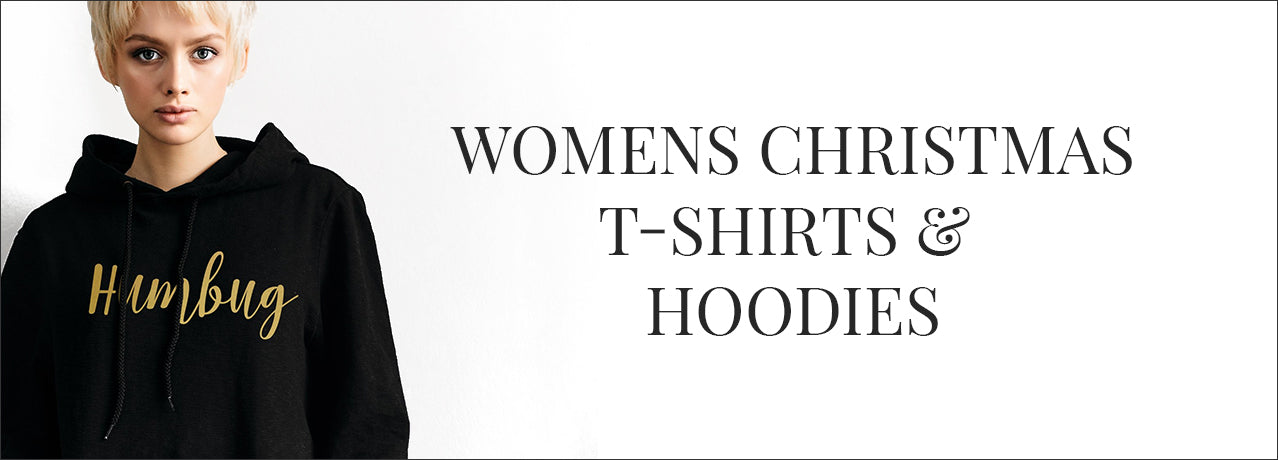 Womens christmas jumpers, t-shirts and hoodies