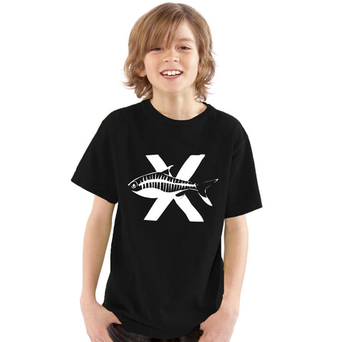 Boys Alphabet Letter X X-Ray Fish A-Z T-Shirt