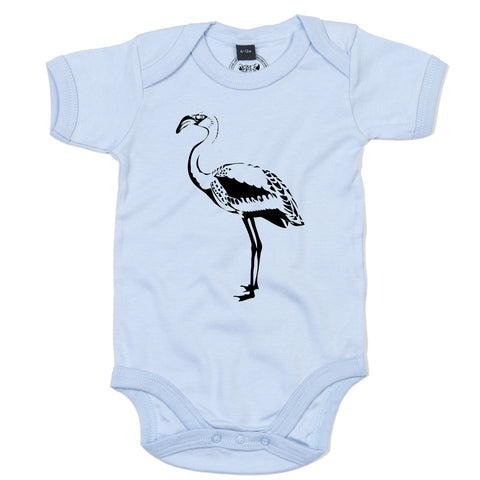 Girls Flamingo T-Shirt - Tiger Prints