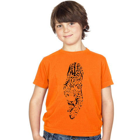 Boys Jaguar / Leopard T-Shirt - Tiger Prints