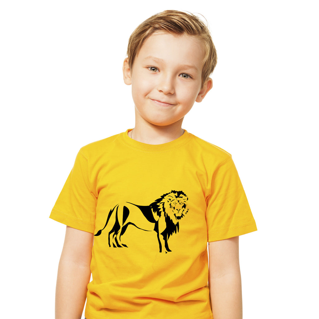 Boys Lion T-Shirt - Tiger Prints